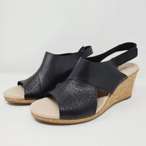 Comfort Collection by Clarks Lafley Joy Wedges